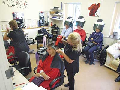 Age Concern Sandwich Hairdressing